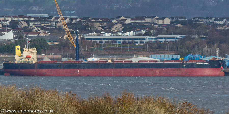 Omicron Titina pictured at Rosyth on 9th February 2019