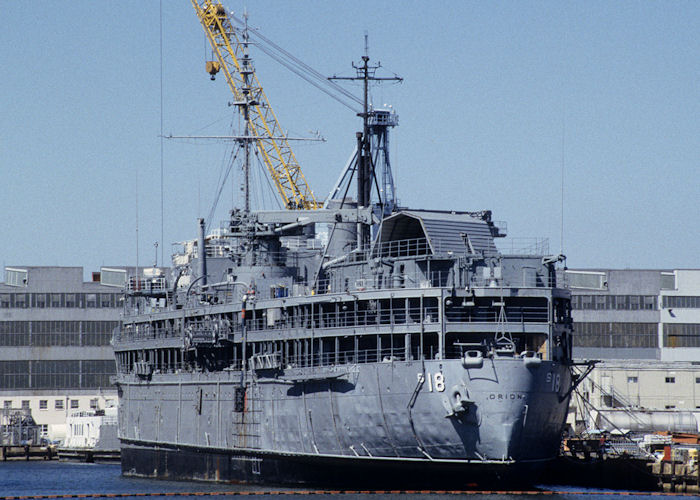 Orion pictured laid up at Portsmouth (USA) on 20th September 1994