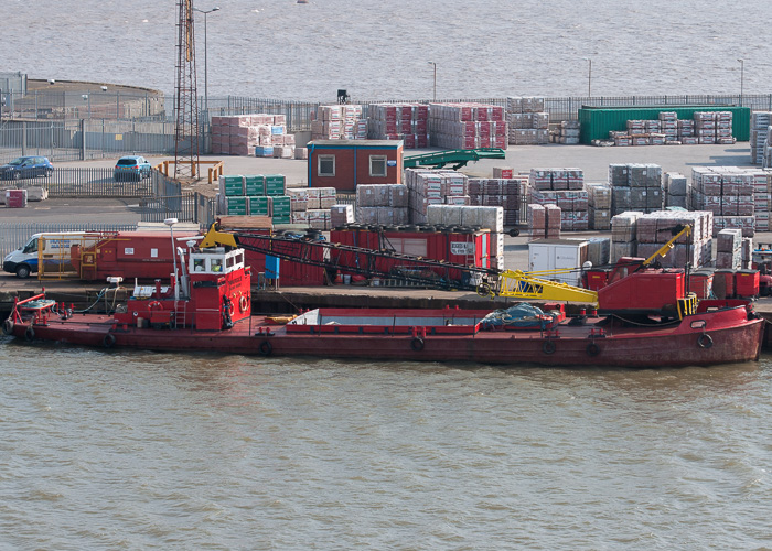 Panurgic II pictured in King George Dock, Hull on 18th July 2014