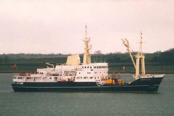Patricia pictured at Harwich on 18th March 2001