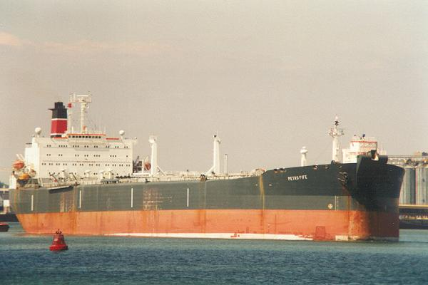 Petro Fife pictured departing Southampton on 7th August 1995