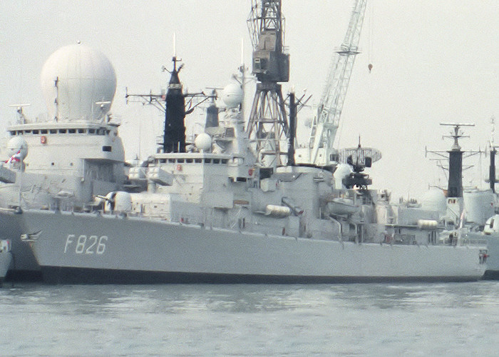 Pieter Florisz pictured at Portsmouth Naval Base on 29th August 1987