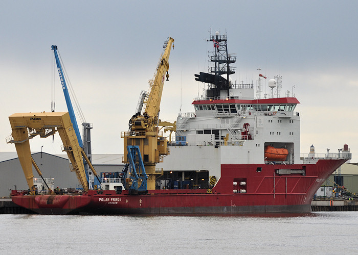 Polar Prince pictured at Montrose on 18th April 2012