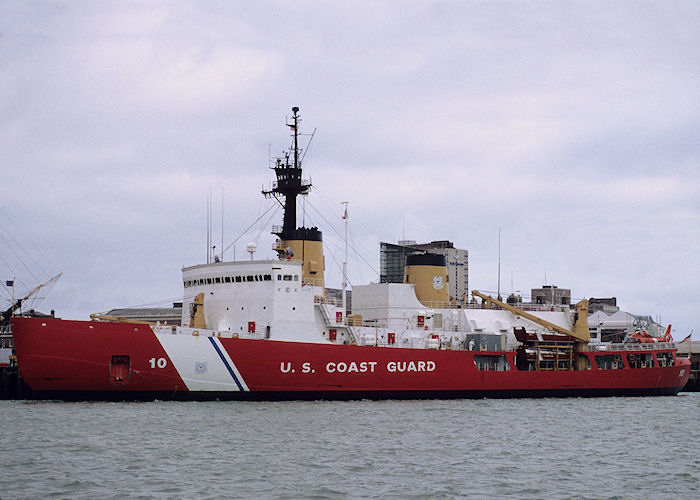 Polar Star pictured in Portsmouth Naval Base on 23rd September 1991