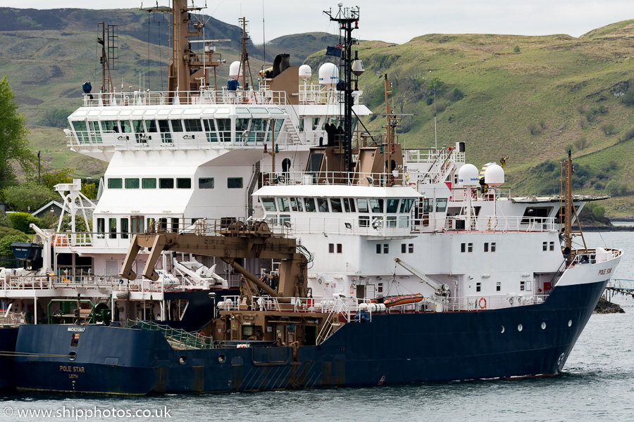 Pole Star pictured at Oban on 15th May 2016