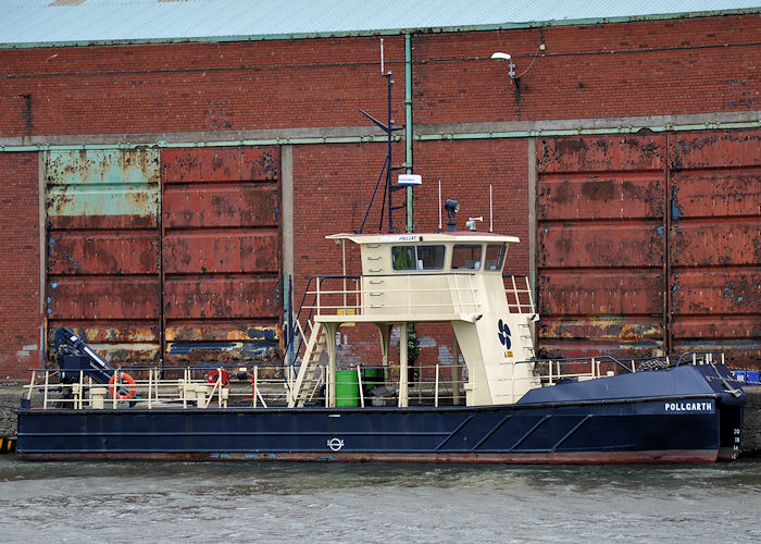 Pollgarth pictured in Liverpool Docks on 22nd June 2013