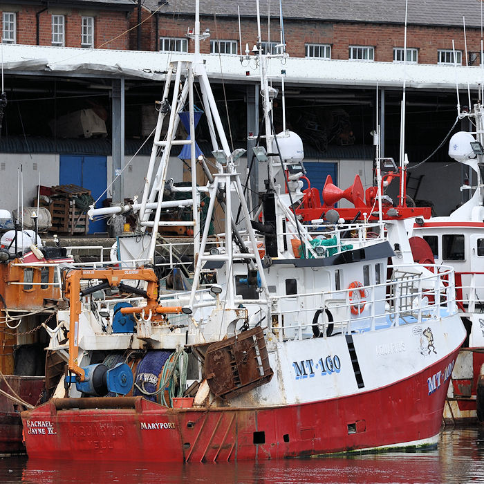Rachael Jayne IV pictured at the Fish Quay, North Shields on 23rd August 2013