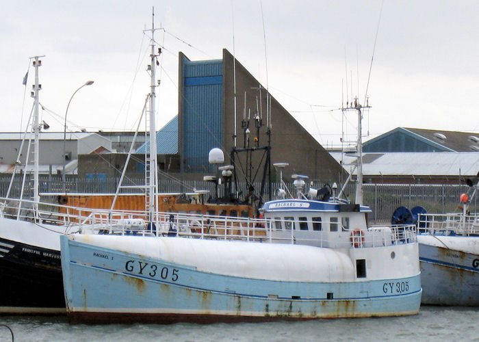 Rachael S pictured at Grimsby on 5th September 2009