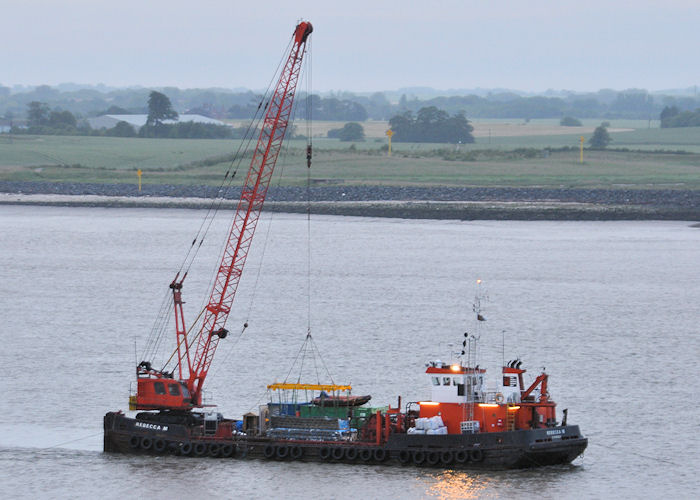 Rebecca M pictured on the River Humber on 23rd June 2011