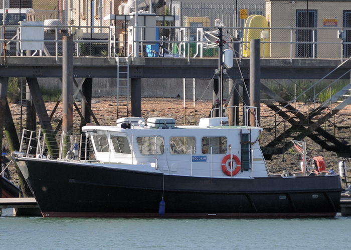 Reclaim pictured at Whale Island in Portsmouth Harbour on 8th June 2013