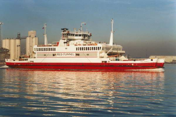 Red Osprey pictured in Southampton on 22nd January 1999