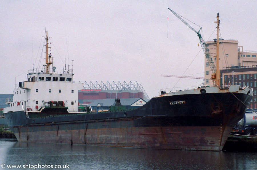 Redthorn pictured in Salford Docks on 20th May 2000