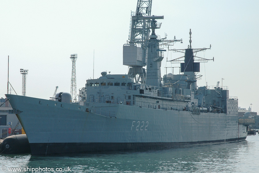 Regina Maria pictured in Portsmouth on 26th March 2005
