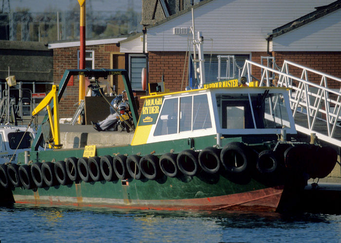 Rough Ryder pictured at Poole on 25th October 1997