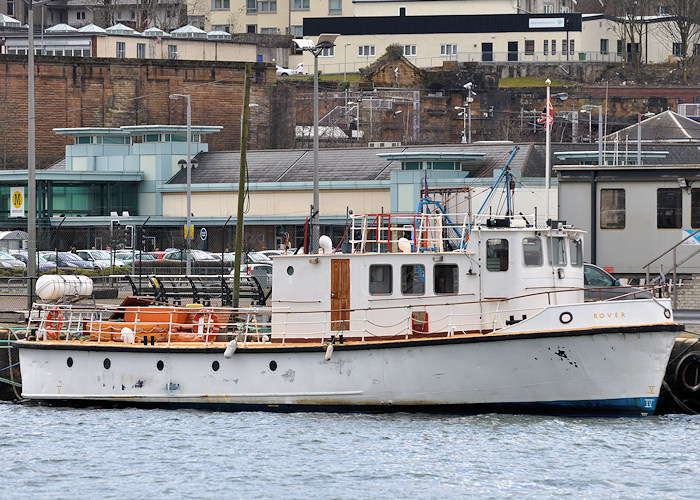 Rover pictured in Victoria Harbour, Greenock on 29th March 2013