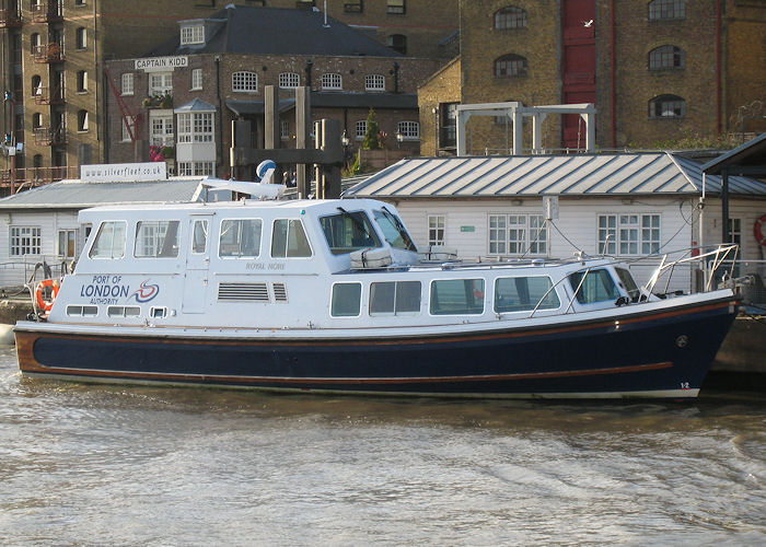 Royal Nore pictured at Wapping on 16th October 2009
