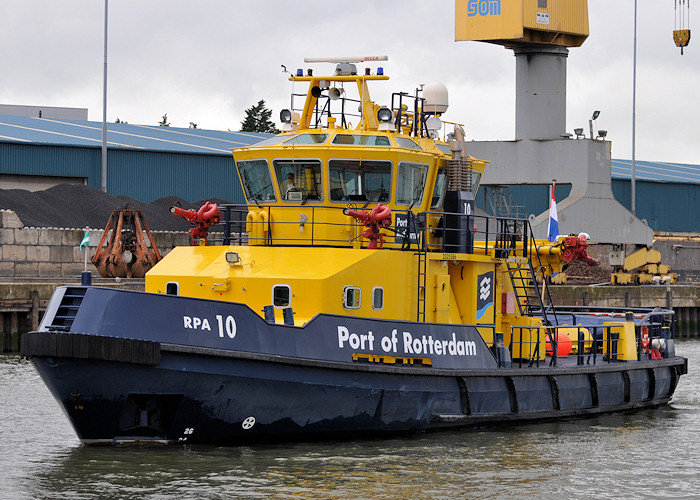 RPA 10 pictured in Merwehaven, Rotterdam on 24th June 2012
