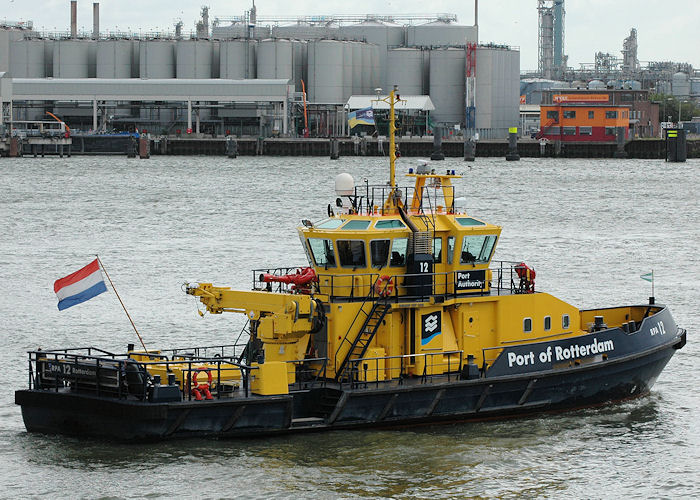 RPA 12 pictured passing Vlaardingen on 19th June 2010