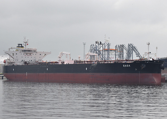 Saga pictured in 7e Petroleumhaven, Europoort on 26th June 2011