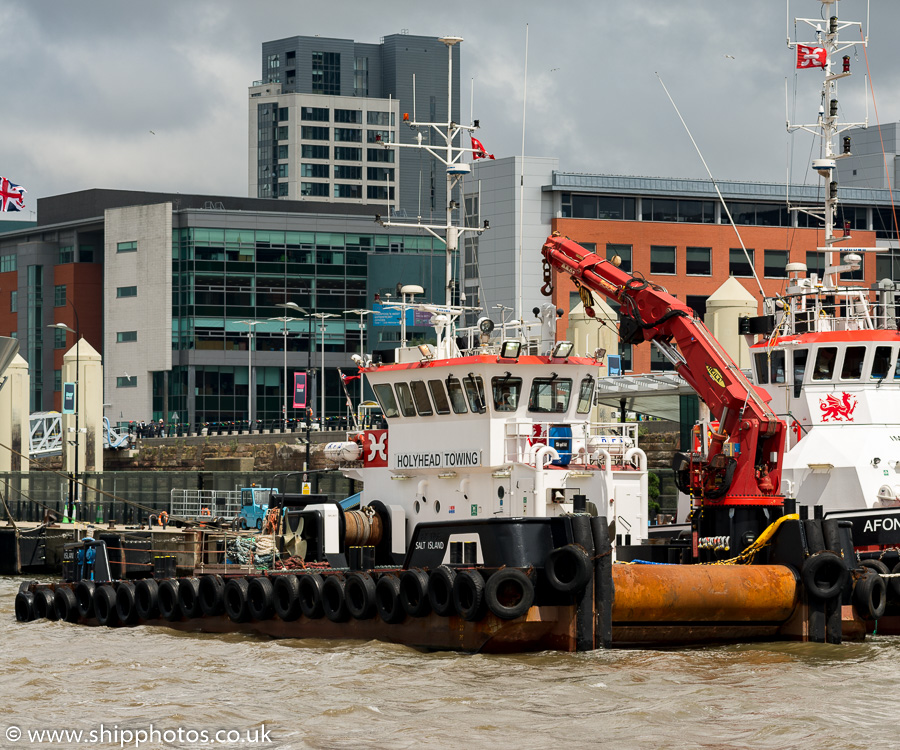 Salt Island pictured at Pier Head, Liverpool on 25th June 2016