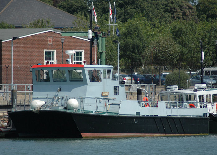 Sapper pictured at Whale Island in Portsmouth Harbour on 8th August 2006