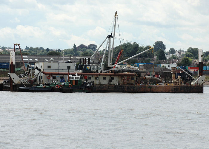 Scaldis pictured at Gravesend on 10th August 2006