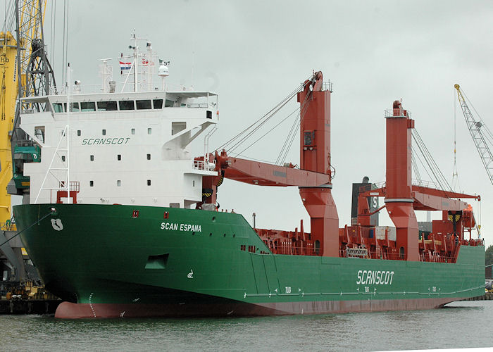 Scan Espana pictured in Waalhaven, Rotterdam on 20th June 2010