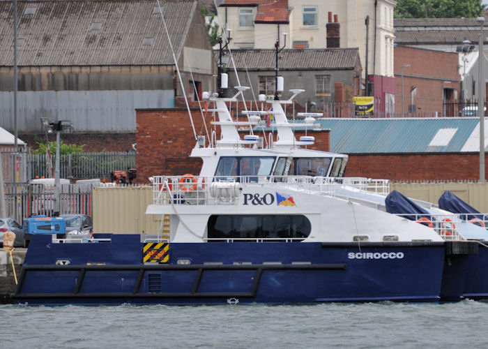 Scirocco pictured in Liverpool Docks on 22nd June 2013