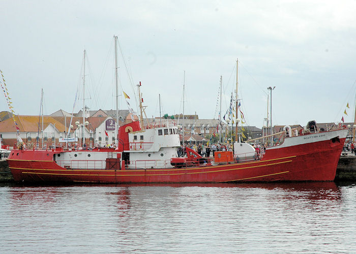 Scottish King pictured at Hartlepool on 7th August 2010