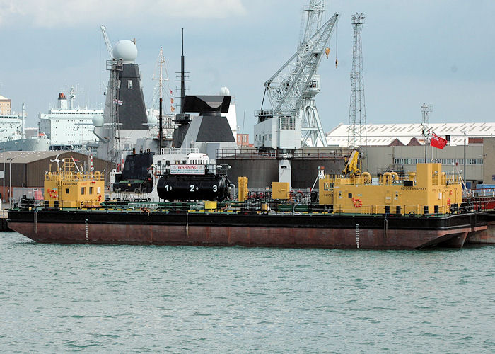 SD Oceanspray pictured in Portsmouth Naval Base on 14th August 2010