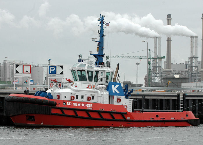 SD Seahorse pictured in Yangtzehaven, Europoort on 20th June 2010