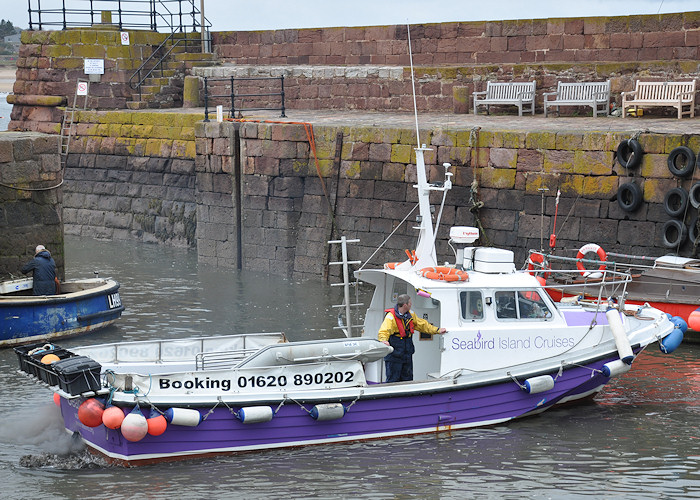 Seabird III pictured at North Berwick on 21st April 2012