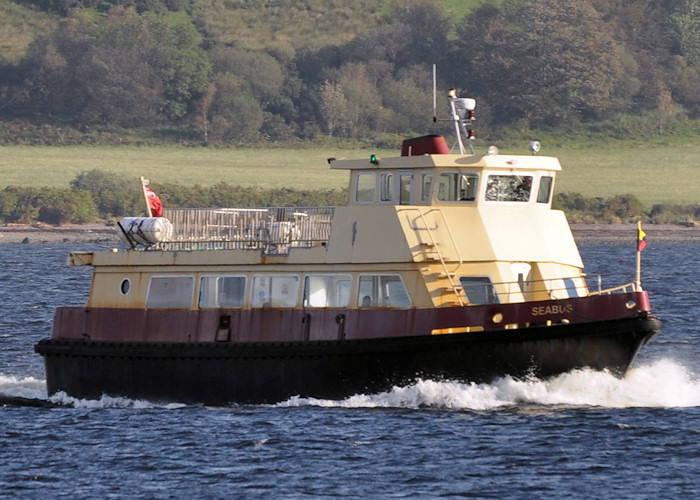 Seabus pictured approaching Gourock on 26th September 2011