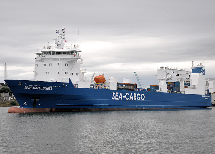 Sea-Cargo Express pictured departing Aberdeen on 16th September 2012
