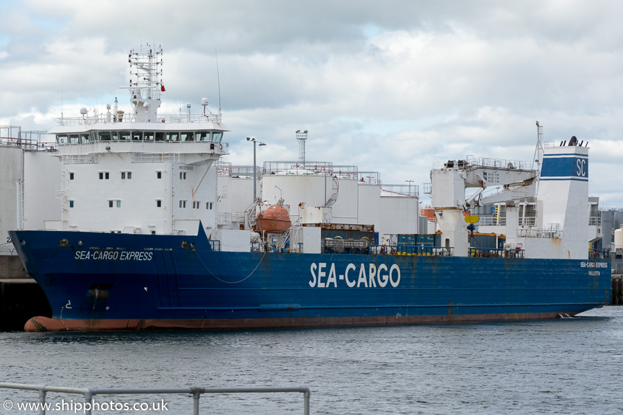 Sea-Cargo Express pictured at Aberdeen on 24th May 2015