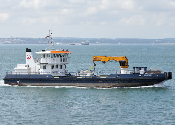 Seagreen pictured entering Portsmouth Harbour on 5th August 2011