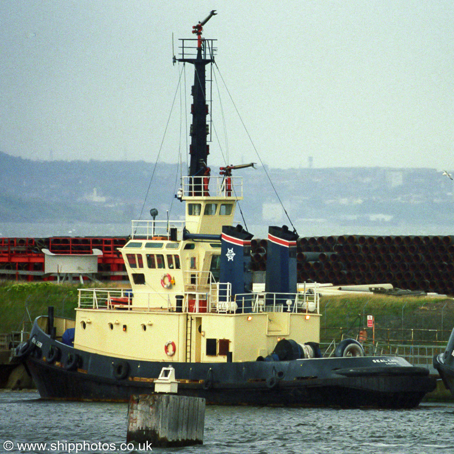Seal Carr pictured at Leith on 12th May 2003