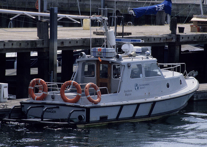Sea Ranger pictured in Southampton on 21st July 1996