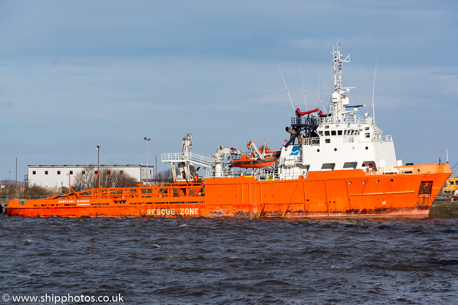 Sentinel Ranger pictured at Leith on 9th February 2019