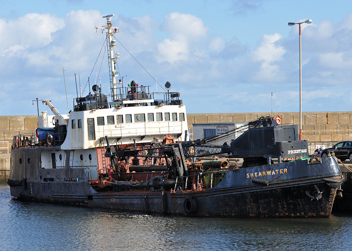 Shearwater pictured at Buckie on 15th April 2012