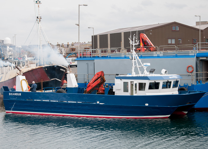 Shjandur pictured at Macduff on 5th May 2014