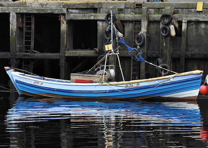 Silver Coquet pictured at the Fish Quay, North Shields on 24th August 2012