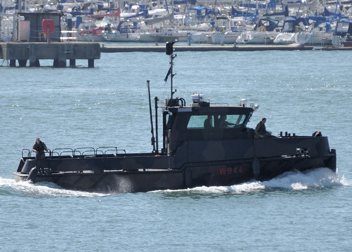 Sirocco pictured in Portsmouth Harbour on 23rd July 2012