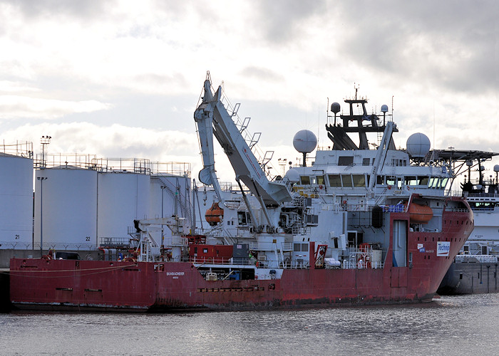 Skandi Achiever pictured at Aberdeen on 15th April 2012