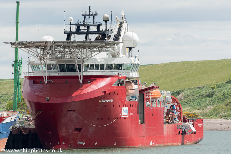 Skandi Achiever pictured at Montrose on 24th May 2015