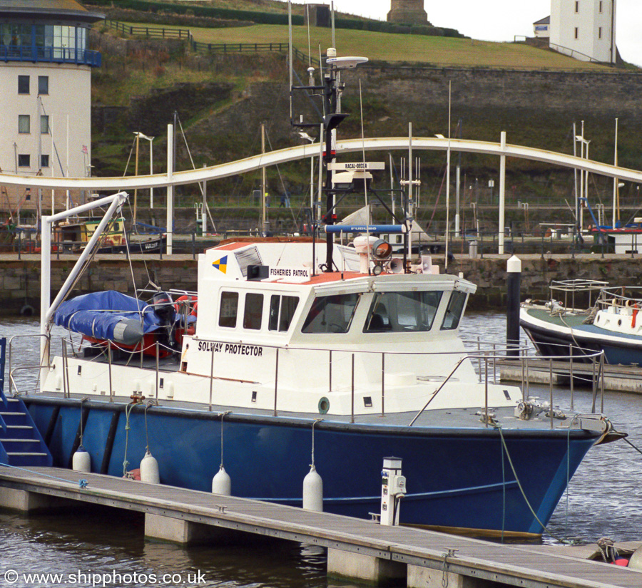 Solway Protector pictured at Whitehaven on 23rd October 2002