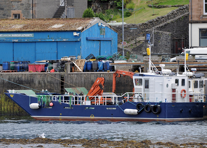 Sophie Ann pictured at Tarbert, Loch Fyne on 3rd June 2012