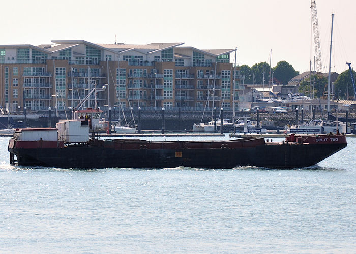 Split Two pictured in Portsmouth Harbour on 6th June 2013