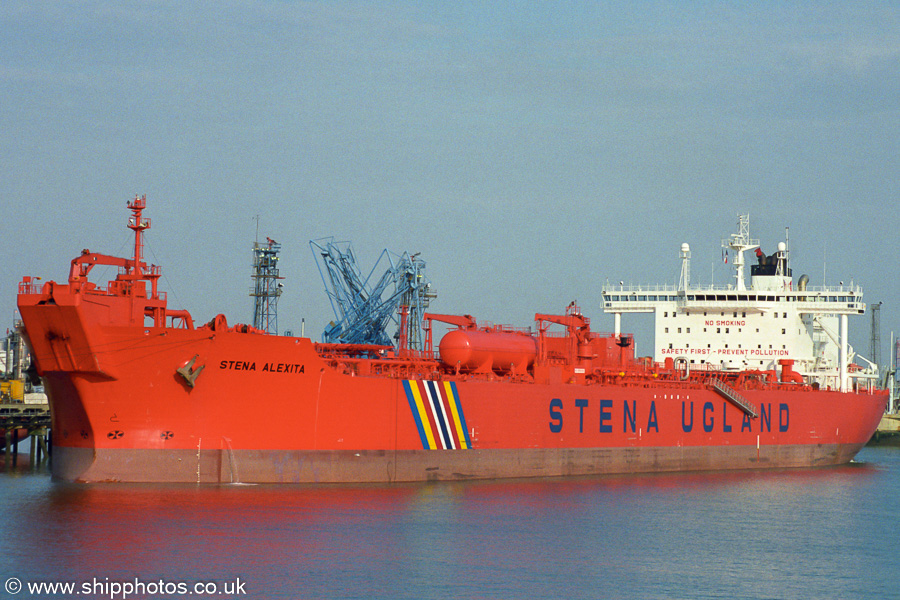 Stena Alexita pictured at Fawley on 17th August 2003