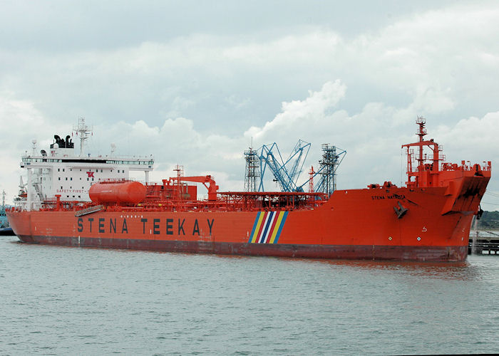 Stena Natalita pictured at Fawley on 14th August 2010